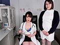 【VR】メガネ巨乳女医&ナースに死ぬほど痴女られるM男専門クリニックVR 画面に収まらないダブル巨乳を揉んで挟んで舐めて吸いまくり 画像1