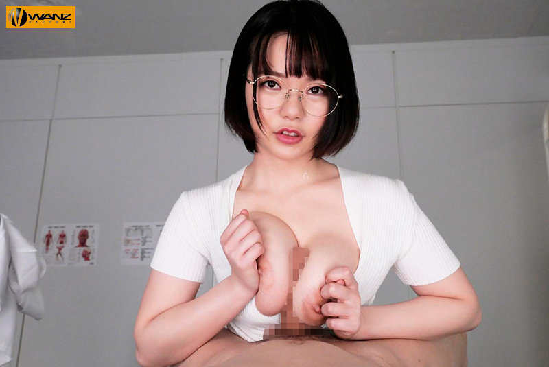 【VR】メガネ巨乳女医&ナースに死ぬほど痴女られるM男専門クリニックVR 画面に収まらないダブル巨乳を揉んで挟んで舐めて吸いまくり6