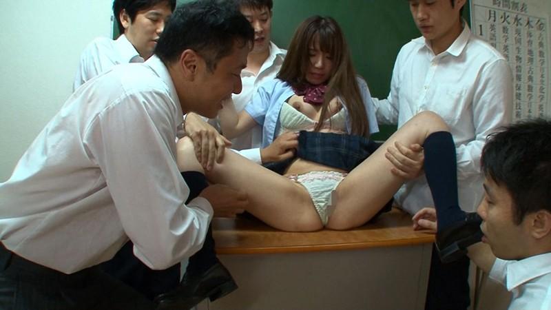 汚れた学園〜剥がされた美少女の笑顔〜 初美りん 7枚目