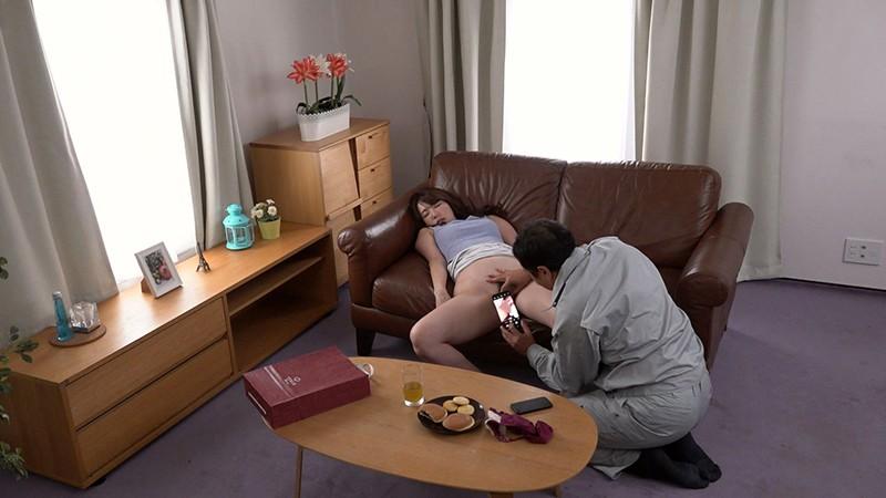 夫の出張中に…人妻NTR 〜変質的な管理人に●され続けた26時間〜波多野結衣 1枚目