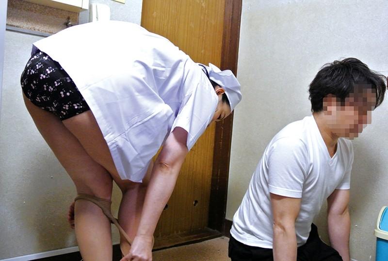 職場の普通のおばさんにムラムラしてしまい熟れた体にセクハラしたら…4時間12