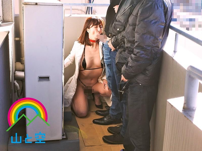 「性奴●にして下さい」ヤリ部屋で調教志願...