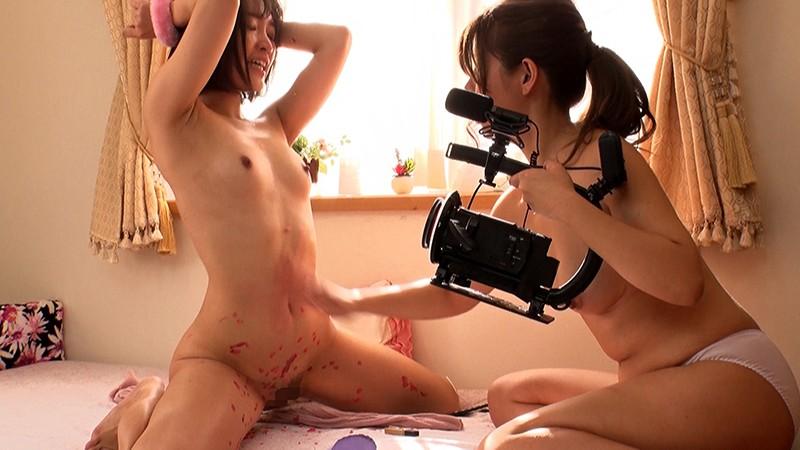 女流監督「伊達彩華」の真性ハメ撮りレズドキュメント VS神ユキ あずみひな 星あめり の画像3