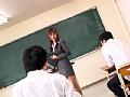 足長美脚おもらし女教師 Ririka5