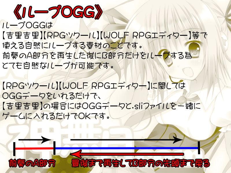 著作権フリー素材集 Vol.29 聖〇伝説風RPG素材 BGM20曲 WAV+ループOGG