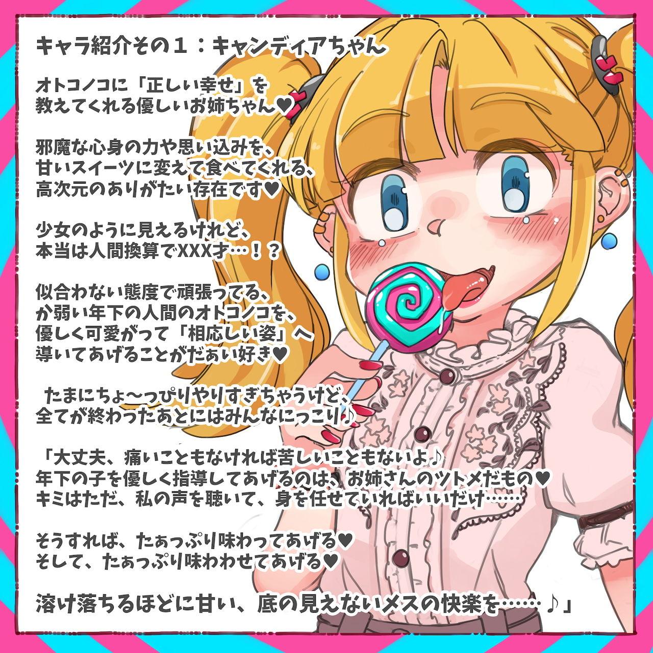 Sissy's Sweets Assort【ASMRメスイキ催●音声】
