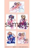 【受注生産】 『アマカノ+ ビジュアルファンブック ドラマCD付限定版』+『タペストリー4枚フルセット』(通常タイプ)