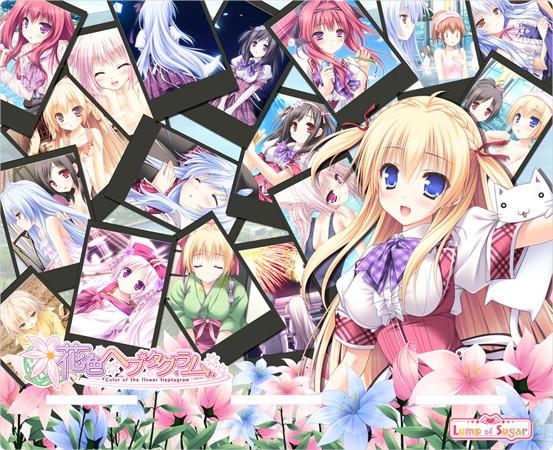 【メーカー公式】メモリアルスタンド「花色ヘプタグラム」