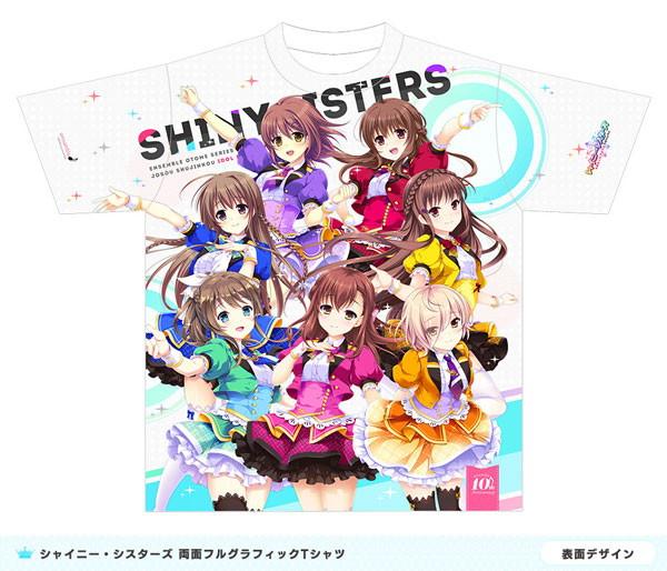 シャイニー・シスターズ 両面フルグラフィックTシャツ XLサイズ