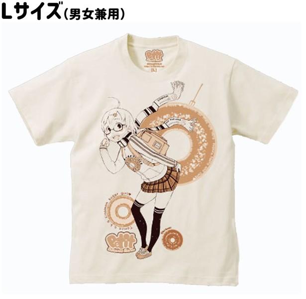 【思春期マーブル】根雪れい ドーナツTシャツ Lサイズ