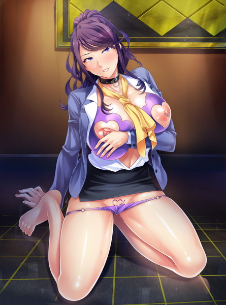 [iteminfo_actress_name] PCゲーム、デモ・体験版あり、アドベンチャー、OL、中出し、孕ませ、熟女、処女 ブラック企業の女社長を社畜が孕ませオナホにしてコキ使う!