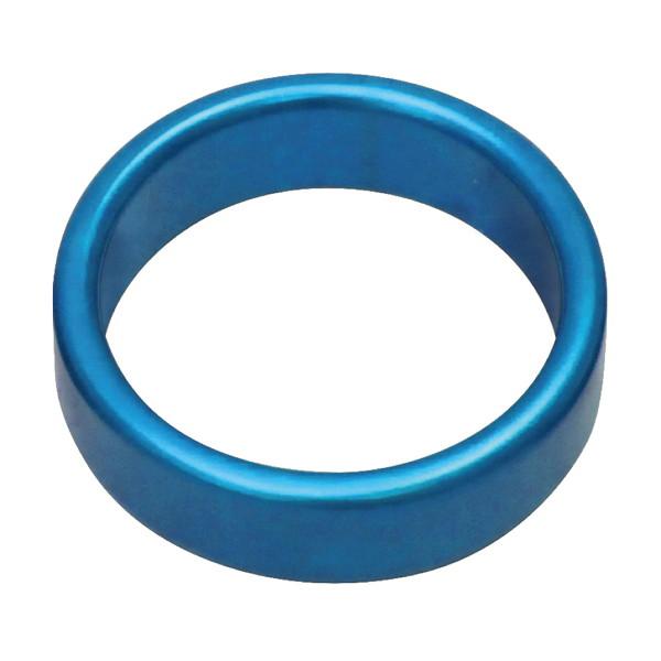 メタルワイドコックリング M 45Φmm ブルー