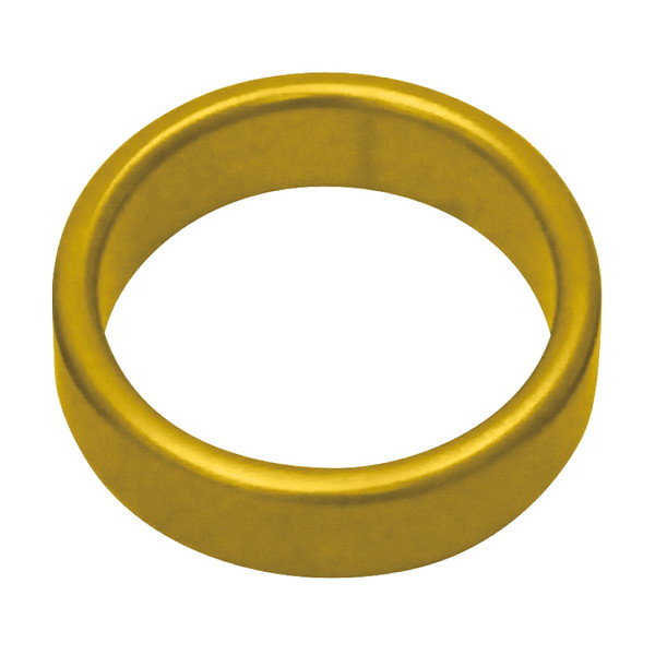 メタルワイドコックリング M 45Φmm ゴールド