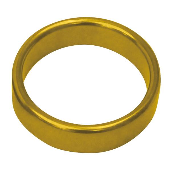 メタルワイドコックリング L 50Φmm ゴールド
