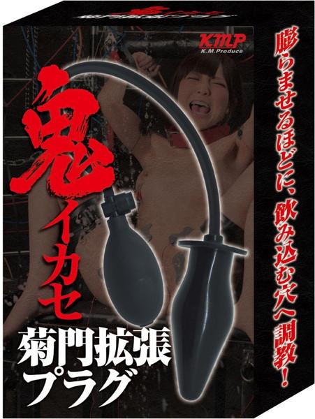 【画像】鬼イカセ 菊門拡張プラグ