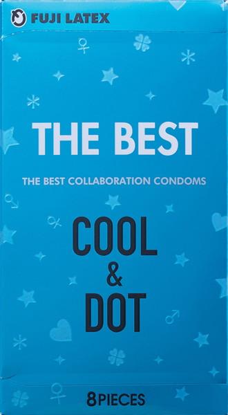 大人のおもちゃ、1000円以下、おすすめ商品、イボ、コンドーム THE BEST COOL&DOT(8個入り)
