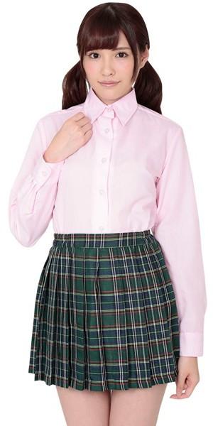 本気で盛れる長袖シャツ ピンク