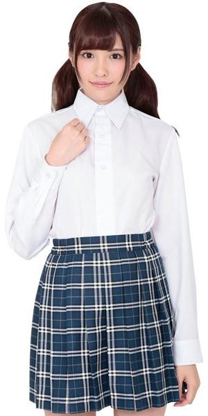 本気で盛れる長袖シャツ ホワイト