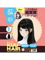 KUU-HAIR[くうヘアー] 04. ブラックストレートロング うなさか