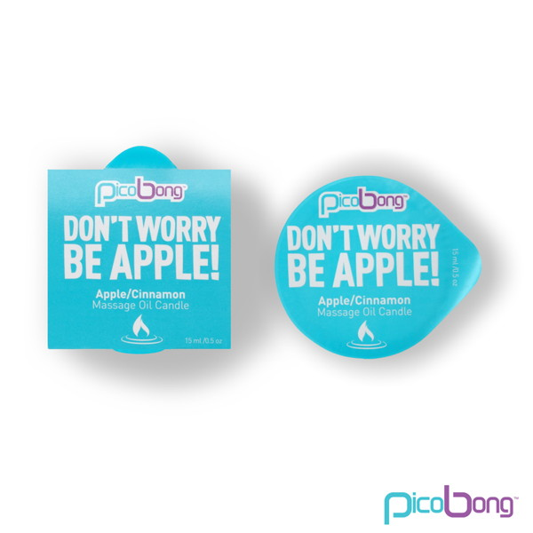 PicoBong Massage Oil Candle Apple&Cinnamon  2個セット