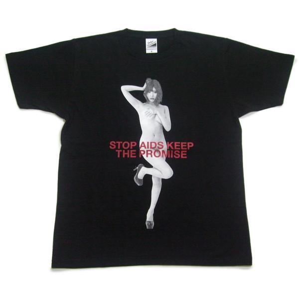 RED RIBBON T-SHIRT(サイズXL/ブラック)モデル:明日花キララ