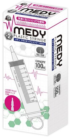 MEDY[メディ]no.2 プラスチックシリンジ 100ml