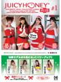 AVC ジューシーハニー PLUS #1 セクシー女優トレーディングカード(天使もえ、希崎ジェシカ、白石茉莉奈、益坂美亜)