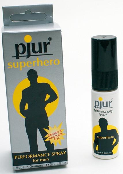 pjur スーパーヒーロー