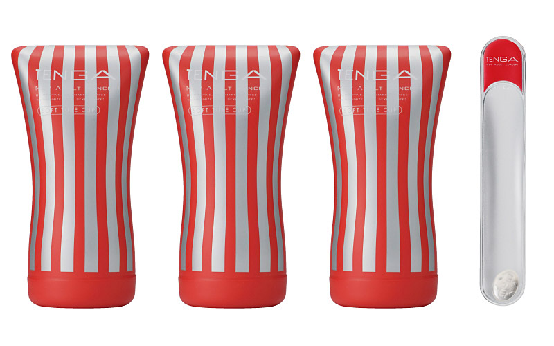 TENGA SOFT TUBE CUP WARMER VALUE SET