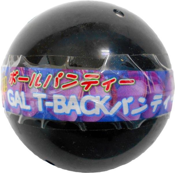 GALのTバックパンティーボール