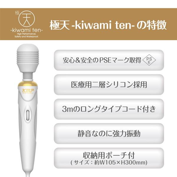 極天 -kiwami ten- [無段階調節][強力振動]