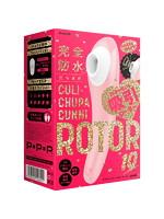 完全防水_吸引実感 CULI-CHUPA CUNNI ROTOR 10 [クリチュパ クンニ ローター 10] pink