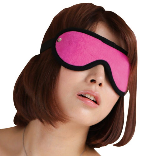 虜ベルベット 目隠しピンク