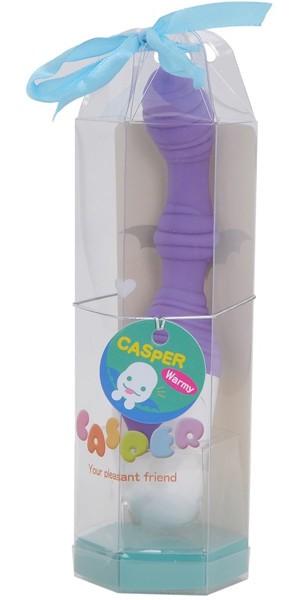 大人のおもちゃ、電動(アナルグッズ)、アナルグッズ、細め、バイブレーター キャスパー ワーミー
