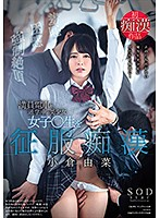 小倉由菜 満員電車で通学中の美少女女子○生を征服痴漢