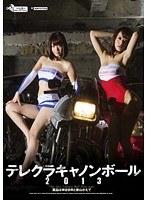 テレクラキャノンボール2013 賞品は神谷まゆと新山かえで(2枚組)
