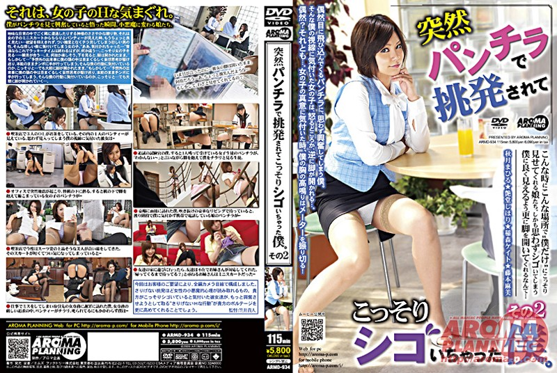 ARMD-934 I Had Not Been Secretly After His Death In Underwear Sudden Provocation. Part 2 (Aroma Kikaku) 2009-03-13