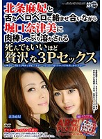 ARMM-033 Horiguchi Natsumi, Houjou Maki - Luxurious 3P Sex Enough To Do Also Dead Is Dissolved Sucking Cock