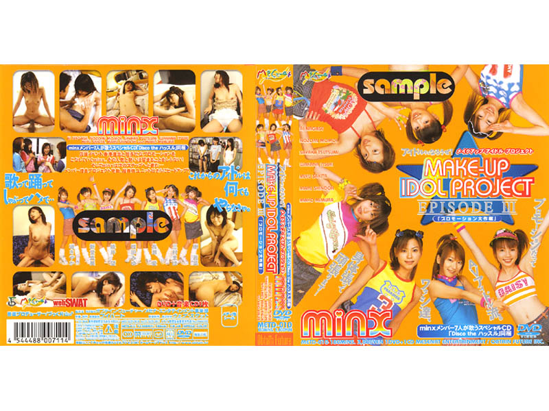 "METD-010 Let 's Make-up To Become A Minx Idol Project Idol! ""Battle Of Promotion "" (Obuteinfuyu-cha-) 2002-09-25"