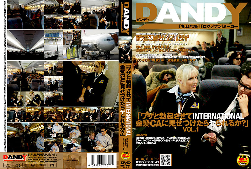 "DANDY-071 ""What Are Ya When Confronted By The CA INTERNATIONAL Blonde Let Skill And Erection?"" VOL.1"