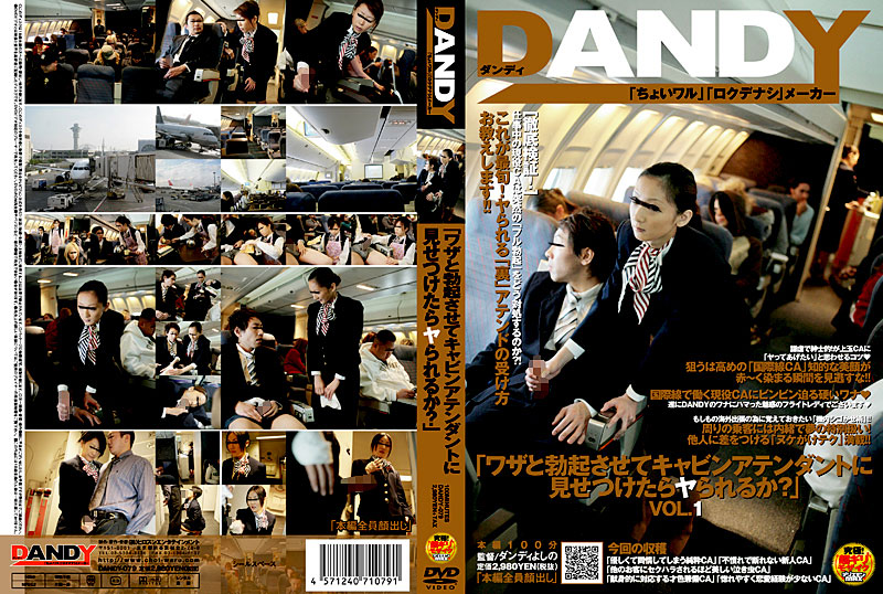 """DANDY-079 """"What Are Ya When Confronted By A Flight Attendant Let Erection And Skill?"""" (Dandy) 2008-03-06"""