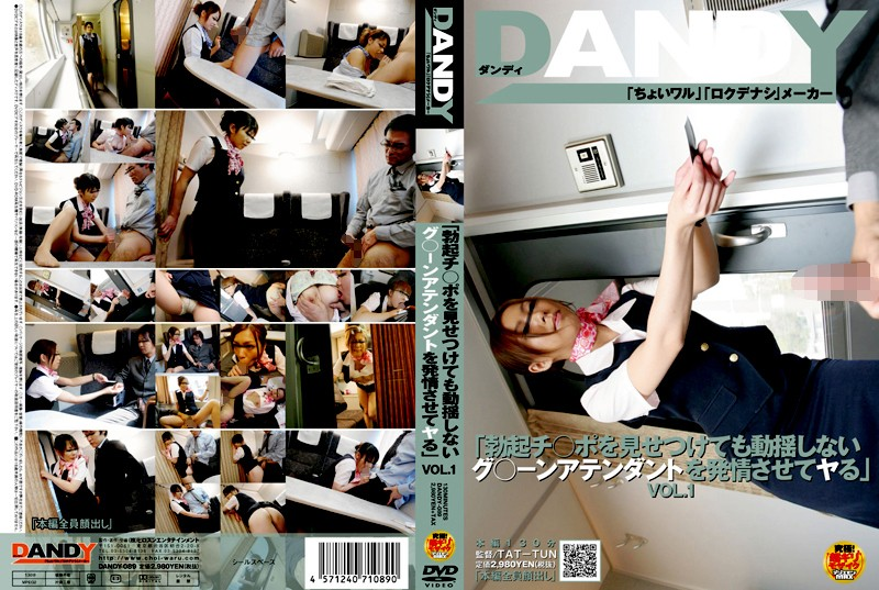 """DANDY-089 VOL.1 """"る Ya Let The Group Estrus ○ ー Attendant Application Does Not Upset Even If Confronted By The Blood ○ Port Erection"""" (Dandy) 2008-05-22"""