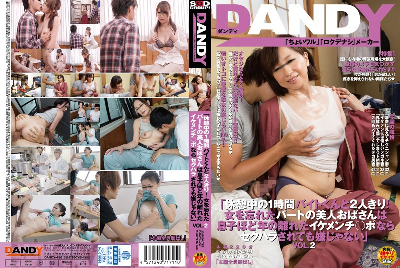 DANDY-456 1 Hour Byte Kun And Two Alone With During The Break!Part Of The Beauty Aunt Forgot Woman's Not Unpleasant To Be Sexual Harassment If His Son About A Year Of Distant Ikemenchi _ Port VOL.2