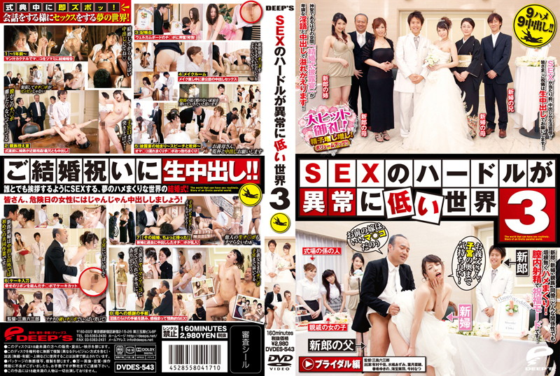 [DVDES-543] A World with Exceptionally Low Hurdles to SEX 3