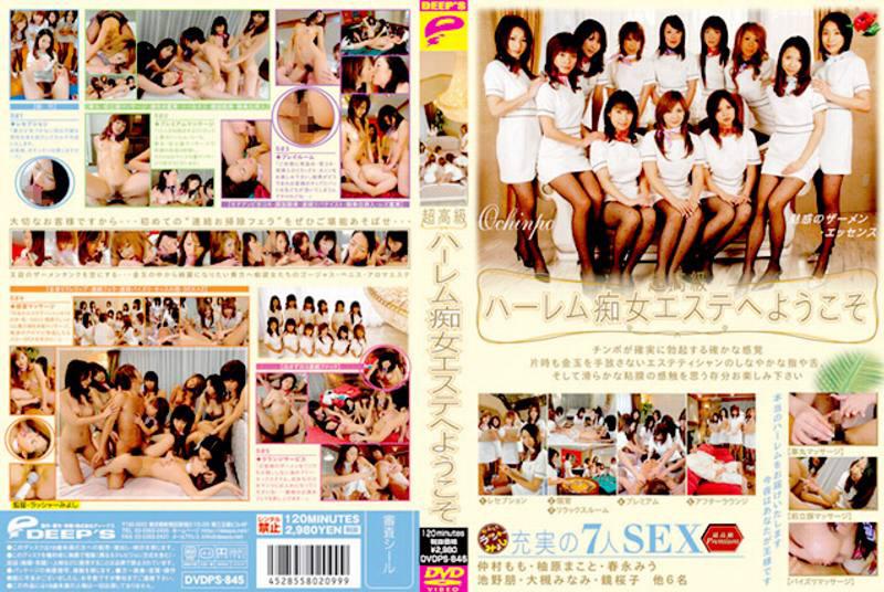 DVDPS-845 Welcome To Ultra High-end Esthetic Slut Harlem