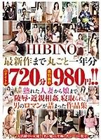 HIBINO最新作まで丸ごと一年分72タイトル720分