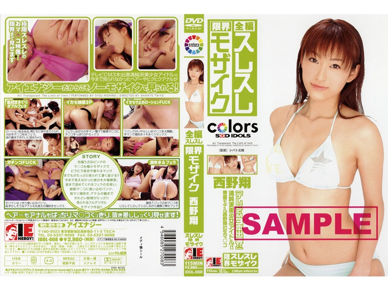 IDOL-008 Shou Nishino Mosaic Full-length Limit Grazing