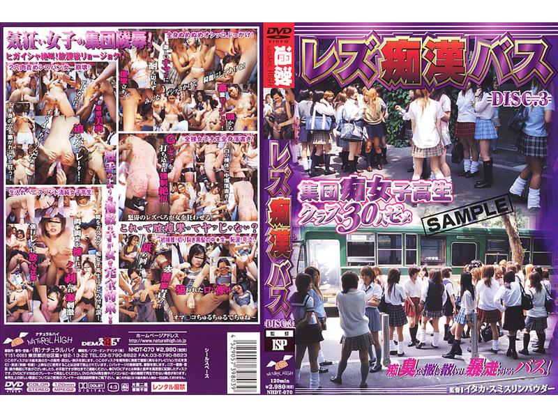 NHDT-070 Lesbian Chikan Bus VOL.3
