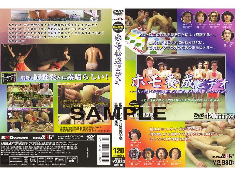 SDDM-185 Video Training Homo (SOD Create) 2002-10-05