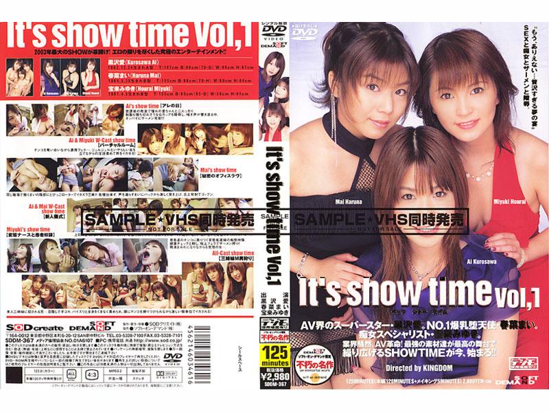 SDDM-367 Its Show Time VOL.1 (SOD Create) 2003-12-04